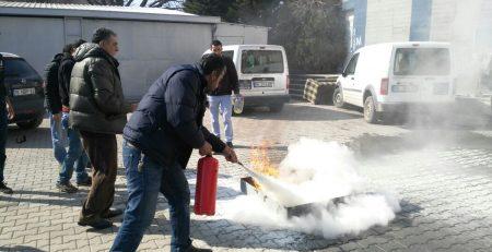 Yangın Söndürme Eğitimi